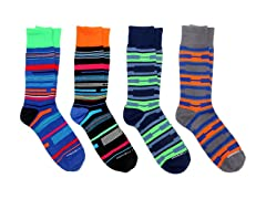 Unsimply Stitched 4-Pair Value Pack Sock