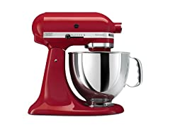 KitchenAid 5-Quart Tilt-Head Stand Mixer, Empire Red