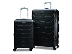 "Samsonite Tread Lite Lightweight Hardside Set (20""/28""), Black"
