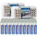 80-Pack Acdelco AA Alkaline with 10 Years Shelf Life