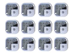 12-Pack ADX Wireless LED Lights