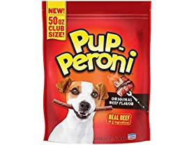 Pup-Peroni Dog Snacks Original Beef Flavor 50 Oz