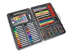 107 Piece Art Set with Metal Case