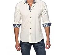 Jared Lang Dress Shirt, Cream