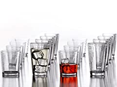 Uptown 16 Piece Glassware Set