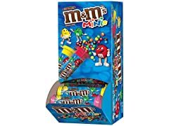 M&M's Chocolate Mini's Tubes, 24ct