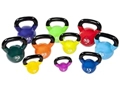 Everyday Essentials Coated Kettlebell