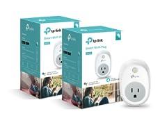TP-Link Kasa Smart Wi-Fi Plug (2-Pack)