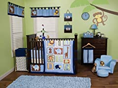 Jungle 123 Crib Bedding Set- 3 Piece