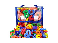 EduKid Toys Magnetic Letters and Numbers