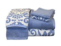 Egyptian Cotton 6-Pc Towel Set-Royal