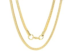 18kt Gold Plated Snake Chain