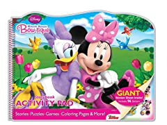 Minnie-Bowtique Storybook Activity Pad