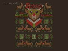 Reading Reindeer Sweater