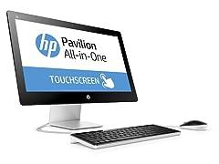"HP 23"" Full-HD Touch Intel i5 AIO Desktop"