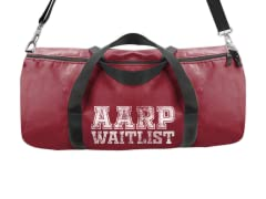 """""""Just a Matter of Time"""" Duffle Bag"""