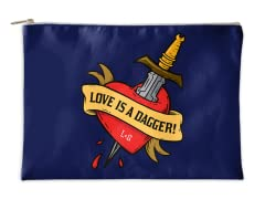Love Is A Dagger! Accessory Pouch