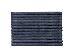 MicroCotton 12pc Washcloth Set-Blue