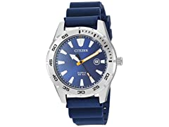 Citizen Mens SS QuartzPolyurethane Watch