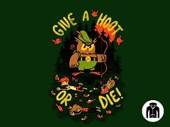 Hoot or Die! Zip-Up Hoodie