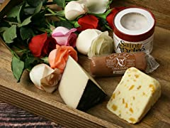 Assortment of Romantic Cheeses