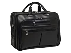 "Rockford Leather Fly-Thru™ 17"" Laptop Case"