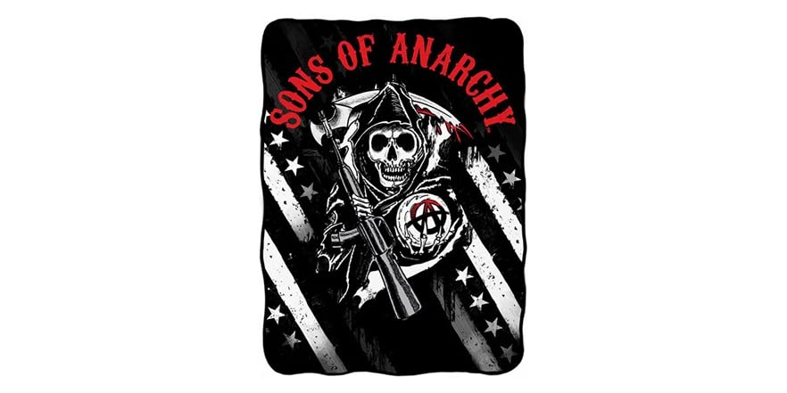 Sons Of Anarchy Fleece - Logo With Stars-6177