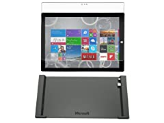 "Microsoft Surface 3 10"" 4G Tablet Bundle"