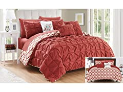 Chic Home Yael Comforter Set