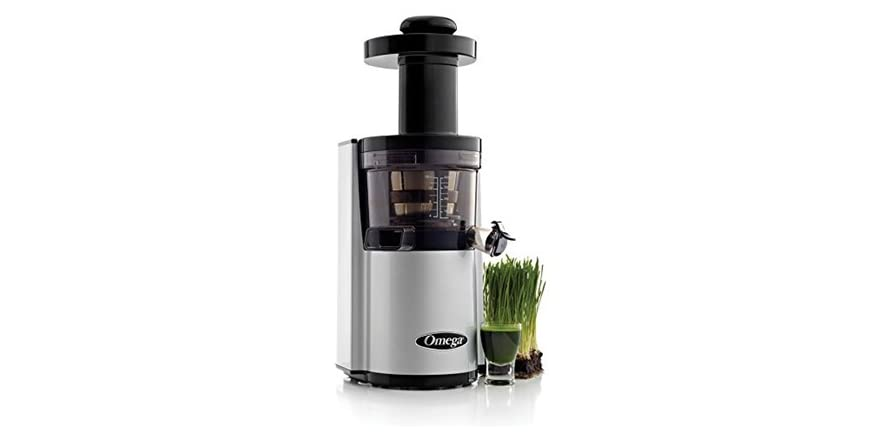 Jr Slow Juicer Service Center : Omega vSJ843QS Slow Juicer Silver