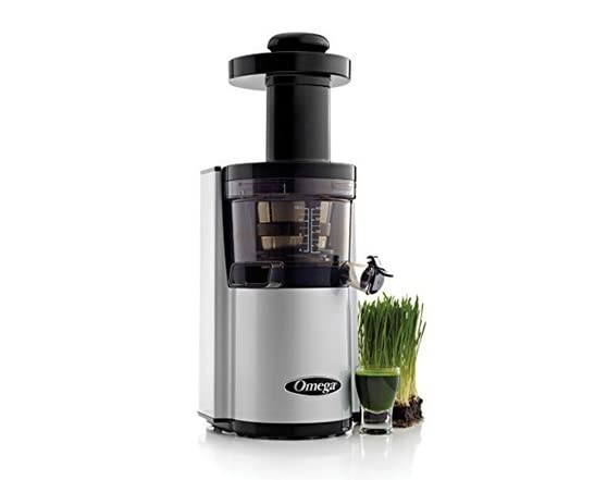 Omega Vert Slow Juicer Vsj843qs Review : Omega vSJ843QS Slow Juicer Silver - Woot