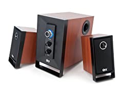 QFX Bluetooth 2.1CH Multimedia Speakers