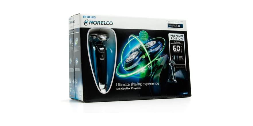 philips norelco sensotouch 3d manual