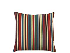 Snuggle Stripe Jewel 17x17 Pillow