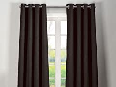 "84"" Quincy Extra-Thick Blackout Grommet Panels - S/2"
