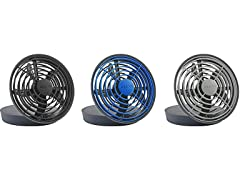 O2COOL 5-Inch Portable USB Fan- 3 Pack