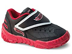 Black & Red Fury (Sizes 6-1)