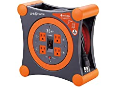 Link2Home 35' Extension Cord Reel