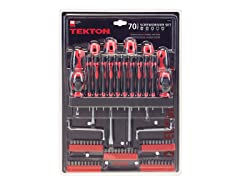 Screwdriver Set, 70-Piece