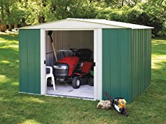 10' x 8' Steel Shed Kit