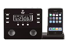30-pin iPod/iPhone Alarm Clock Speaker System