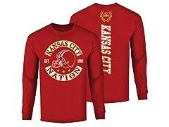 Football Nation LS Shirts