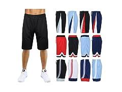 Mens Premium Workout Training Shorts, 1-4PK