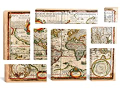 Vintage Map by Maximilian San