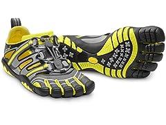 Vibram Women's TrekSport Sandal, Gry/Ylw