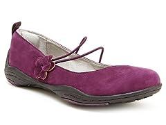 Mason - Flat Ballerina- Purple (7)