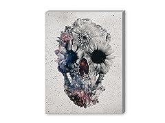 Floral Skull 2 (2 Sizes)