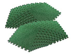 Interlocking Grass Deck Tiles - 18 Pack