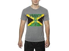 Jamaican Flag Mondo S/S T-Shirt