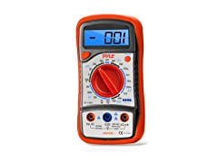 Digital LCD Multimeter w/ Case and Stand
